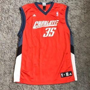 Adam Morrison Charlotte Bobcats Adidas Jersey